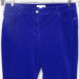 Chicos Corduroy Pants Jeans Women Size 3 XL 16